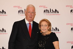 Hugh Hildesley and Gala Co-Chair Alice Netter