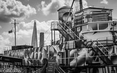 Thames-0583.jpg (Colin Dorey) Tags: uk london westminster ship shard riverthames dazzle embankment victoriaembankment thameswalk