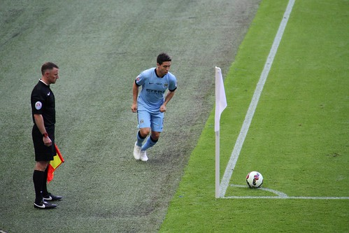 Community Shield 21 -  Samir Nasri corner
