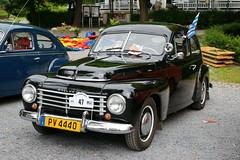 Volvo PV444 10.8.2014 2313 (orangevolvobusdriver4u) Tags: auto classic car vintage volvo belgium belgique oldtimer luxembourg spa pv luxemburg belgien 2014 buckelvolvo 444 pv44