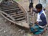 Bangladesh - Dingi Repairs (blackthorne57) Tags: bangladesh dingi bowdrill traditionalmethod boatrepair