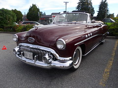 1951 Buick 46C Special (Foden Alpha) Tags: buick plate columbia special license british mapleridge collector 46c b00377