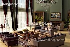 Thiết kế nội thất phòng khách tân cổ điển_001