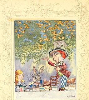 From flickr.com/photos/126377022@N07/14758718466/: Image from page 7 of .Songs from Alice in wonderland and Through the looking-glass. (1921)