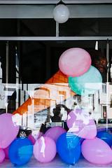 it'sMyPartyAndI'llCryIfIWantTo (davidclifford) Tags: street color reflection portugal window silhouette contrast self balloons lisboa lisbon profile streetphotography icecream bluemood visualdiaries vsco vscofilm vscophile