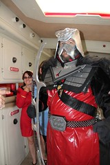 Trekkies come in all sizes! (stevenighteagle) Tags: houses startrek interiors cosplay warriors starfleet enterprise props voy tng trekkies tos klingons