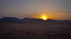 Breaking Dawn from Wadi Rum