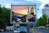 Motorcycle advertising in Germany.