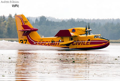 F-ZBFV Canadair CL-415 (CL-215-6B11) Securite Civile (Andreas Eriksson - VstPic) Tags: history water its modern forest fire for forrest sweden background over pelican gathering worst 37 seen bombing cl415 canadair civile securite fzbfv cl2156b11