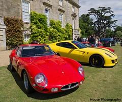 Wilton House Ferraris ({House} Photography) Tags: show new old house classic car automotive classics gto wiltshire 250 supercars wilton ferrai 2014 599 housephotography worldcars timothyhouse