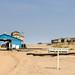 Entrance checkpoint to the Elizabeth Bay diamond mine near Lüderitz