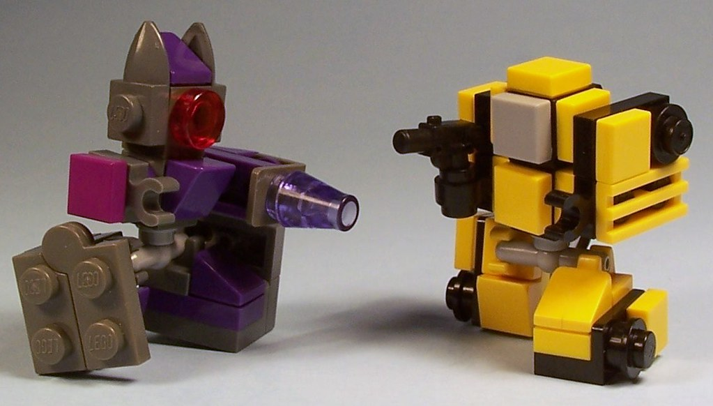 lego mini bumblebee instructions