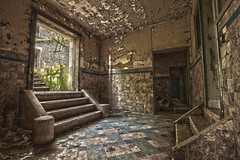 pax factory steps (MattJP) Tags: old urban abandoned canon dark factory belgium spooky dirt pax grime derelict cr