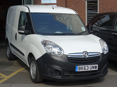 2013 Vauxhall Combo (harry_nl) Tags: england britain coventry vauxhall combo 2014