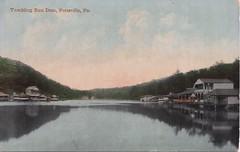 Pottsville Tumbling Run Dam (brooklandsspeedway) Tags: postcard postcards schuylkillcounty