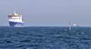 Inbound (tony.evans) Tags: sea rock ferry plane marine ship dolphin vessel container bunker dolphins catamaran airbus a380 gibraltar tanker levante straitofgibraltar bayofgibraltar straitride yachtbunkering britishairwaysstraitride