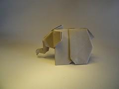 Elephant - Fumiaki Kawahata (Rui.Roda) Tags: elephant paper origami papel papier papiroflexia elefante kawahata fumiaki
