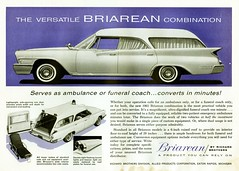 1961 Chrysler New Yorker Briarean Combination (aldenjewell) Tags: new coach brothers ad ambulance funeral richard chrysler 1961 combination yorker briarean