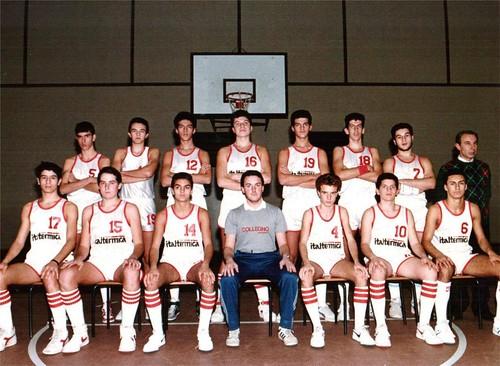 Collegno Basket Cadetti Nazionali 71-72 AS 1987-88