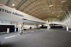 Concorde at Manchester Airport (zund) Tags: speed manchester airport tour aircraft delta elite concorde firstclass supersonic soundbarrier speedbird