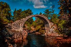 DSC_9055 (Stuart Lilley Photography) Tags: bridge water river landscape scotland landscapes nikon bridges filter rivers filters lightroom carrbridge d3200 nd16