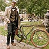 "From the archives! 2011#tweedrideto #tweedride #toronto #tweed #tweedrun #vintagebike #edwardian #victorian #jazzage #vintage #biketoronto #bicycle #bikeswithoutborders • <a style=""font-size:0.8em;"" href=""https://www.flickr.com/photos/127251670@N02/15054947946/"" target=""_blank"">View on Flickr</a>"