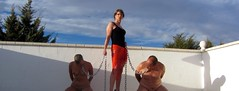 Mistress Kimberley by kimberley_young76 - Walking the slaves in Spain, x