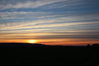 Sunset in Oneida NY