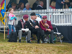 Veterans at the commemoration ceremony #Margetgarden2014 #Airborne_2014