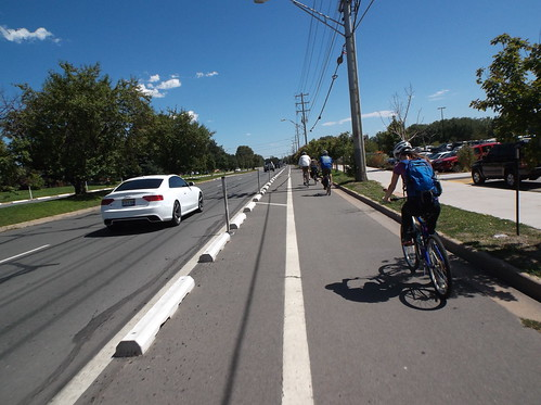 Photo - Baseline Road Cycle Track