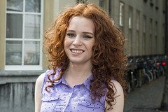 Thousands of redheads (StudioMde) Tags: red woman nikon style days redhead shade breda portret rood hue redheads d800 nuance haar 2014 guinnessbook studiomde redheaddays thousandsofredheads