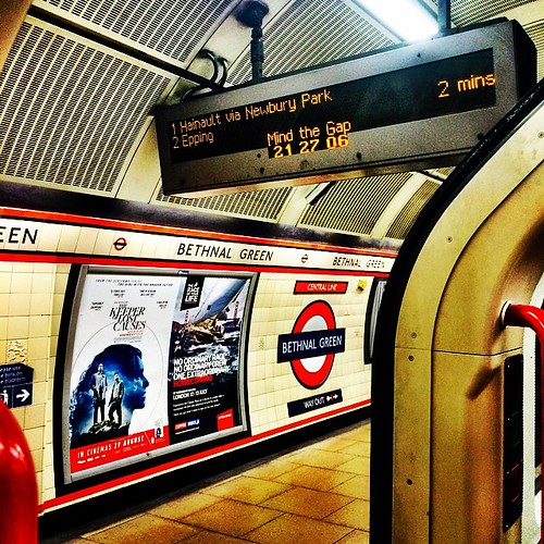 Bethnal Green #underground #london (pre-Friday)