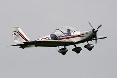 Aerotechnik EV-97 Eurostar G-CDAP (NTG842) Tags: city light manchester airport eurostar aircraft barton aerodrome ev97 aerotechnik gcdap