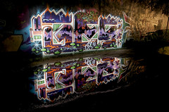 Reflections: Ges  Night-Pieces BXXXVIII - 482x (Jupiter-JPTR) Tags: reflections germany graffiti cologne colonia oh nightshots halloffame ccaa dou
