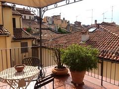 Buongiorno, Bologna!    (And, might I say, I'm quite liking this hotel balcony)