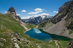 Grand Lac. Ecrins (Olivier Dégun) Tags: canon eos is lac grand usm briançon ecrins cerces 1585 700d monetierlesbains