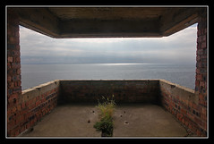 Searching The Forth (K-Burn) Tags: plant building brick abandoned fife worldwarii sunrays elie firthofforth shellbay eastneuk forthestuary earlsferry kincraighill kincraigbattery