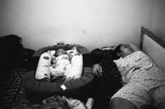 sleeping (thomtomo) Tags: leica bali baby indonesia kodak sleep mother peaceful son dreaming iso1600 leicam6 kodaktrix400 summaron35mmf28