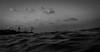 IMG_5184 (newbraveworld) Tags: beach israel fisherman waves afternoon grainy haifa fishingrod batgalim inthesea medeteraniansea medeteranianbeach
