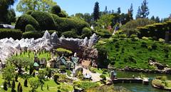 Disneyland Storybook Land (hupspring) Tags: landscape miniature disneyland southerncalifornia orangecounty anaheim caseyjr storybookland storybooklandcanalboats caseyjrcircustrain