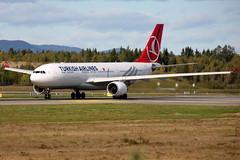 Turkish TC-JIO, OSL ENGM Gardermoen (Inger Bjrndal Foss) Tags: norway airbus turkish a330 osl gardermoen engm tcjio