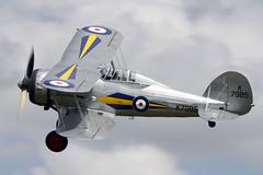 Gloster Gladiator MkI L8032 K7985 (G-AMRK) - Old Warden, July 2015 (DanGB) Tags: vintage aviation bedfordshire retro airshow warbird raf biplane gladiator exmilitary gloster airdisplay shuttleworthcollection oldwarden