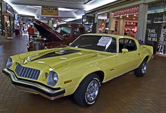 1978 Chevy Camaro (buickstyle232) Tags: yellow malls camaro chevy 1978 musclecars classiccars salinakansas centralmall chevycamaro shoppingcentersandmalls