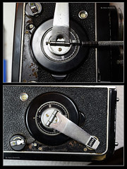 Ricohmatic 225 Notes (02) (Hans Kerensky) Tags: ricoh ricohmatic 225 japanese 6x6 tlr transport crank remove install