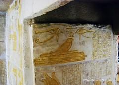 Eyes on the tomb wall (konde) Tags: 18thdynasty newkingdom mayaandmeryt saqqara tomb mayaandmerit ancient tombrelief deities hieroglyphs