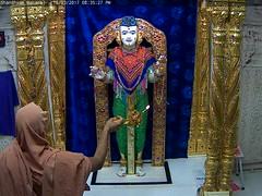 Ghanshyam Maharaj Shayan Darshan on Thu 16 Mar 2017 (bhujmandir) Tags: ghanshyam maharaj swaminarayan dev hari bhagvan bhagwan bhuj mandir temple daily darshan swami narayan shayan
