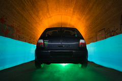 mkIV (MAGIC PASSION * PHOTOGRAPHY *) Tags: magicpassionphotography carshooting golf mk 4 iv vw volkswagen monster monsterenergy hooleechit lightpainting lightart photography creative night light oldschool black magic