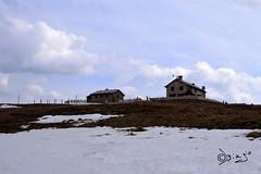 Rifugio Castelberto - Italy! (Biagio ( Ricordi )) Tags: castelberto lessini italy nuvole verona erbezzo rifugio neve