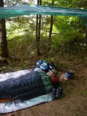 Tim's Tarp (The Cabin On The Road) Tags: alaska kayak tarp seakayaking southeastalaka