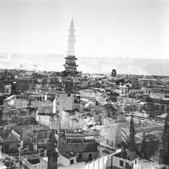 ((- M@TuSa -)) Tags: lomo lomografa lomography sevilla paisaje diana urbano dianaf casas giralda paisajeurbano lomografia catedraldesevilla